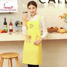 Kitchen apron cute waist cake shop Korean fashion waiter training class art club home