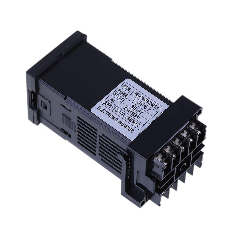 de REX-C100 digitas com escala 0-400 graus celsius 50hz