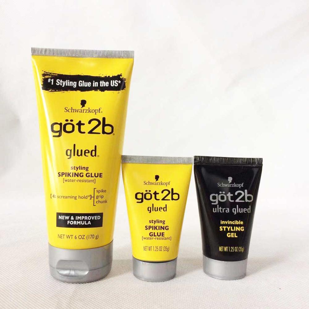 Got 2b Ultra Glued Invincible Styling Glue Water Resistant Got To Be Glued 6oz 170g /1.25oz 35g Got 2 B Glued Hair Styling Agent