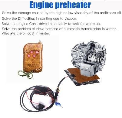 carheater 12 Venginepreheating heater Electrical oilHeating Fans with LEDForAutoDieselfromenginewebastoAirParking