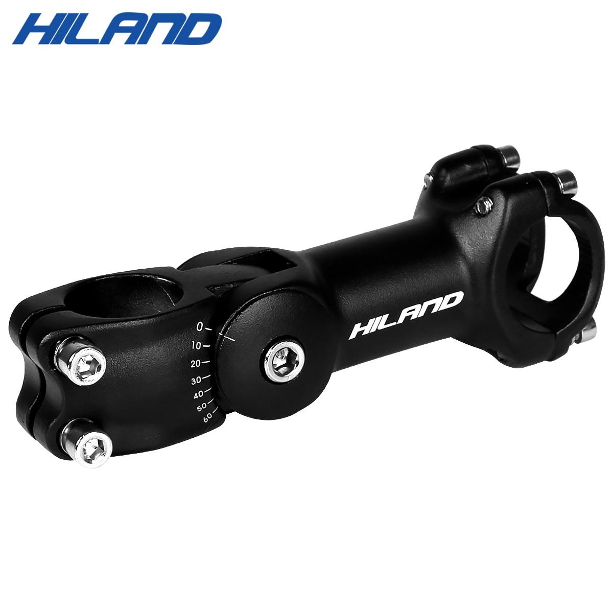 90 110mm High-Strength Lightweight 31.8mm&25.4mm Adjustable Bicycle Bike Stem Riser XC AM MTB Mountain Road Bike Bicycle