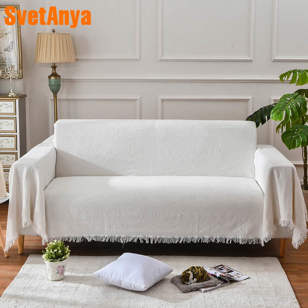 Cool 2019 Nordic Light Beige Woven Sofa Covers Blanket Plaids Cotton Polyester Quilting Sofa Blanket Towel Slipcovers Protect Cover Hot Discount 11 11 Pdpeps Interior Chair Design Pdpepsorg