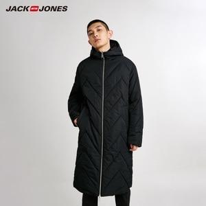 Image 1 - Jackjones 남자의 뒤집을 후드 파카 코트 긴 패딩 자켓 남성복 218409505