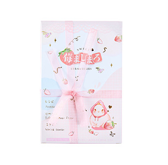 P98- Strawberry Rabbit Paper Postcard(1pack=30pieces)