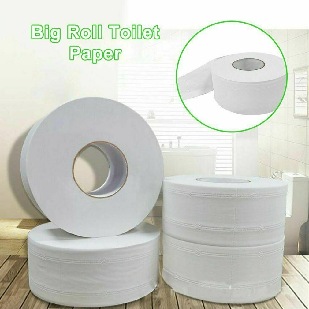 Large Grain Paper 3 Layers Toilet Roll Paper Tissue Roll Paper Primary Wood Pulp Toilet Paper 2 Rolls