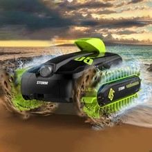 18SL02 1/16 RC Car Stunt Boat Remote Control 4WD Truck Amphibious Radio Controlled Vehicles For Kids Adults Toys Gifts