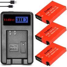 3 шт. EN-EL12 ENEL12 RU EL12 Батарея + ЖК-дисплей USB Зарядное устройство для цифровой камеры Nikon COOLPIX S630 S610 S640 S1000 S1200pj S31 S6000 S6100 AW120s P340
