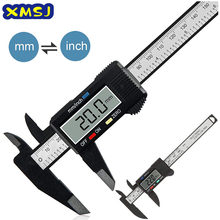 150mm 100mm Electronic Digital Caliper Carbon Fiber Dial Vernier Caliper Gauge Micrometer Measuring Tool Digital Ruler