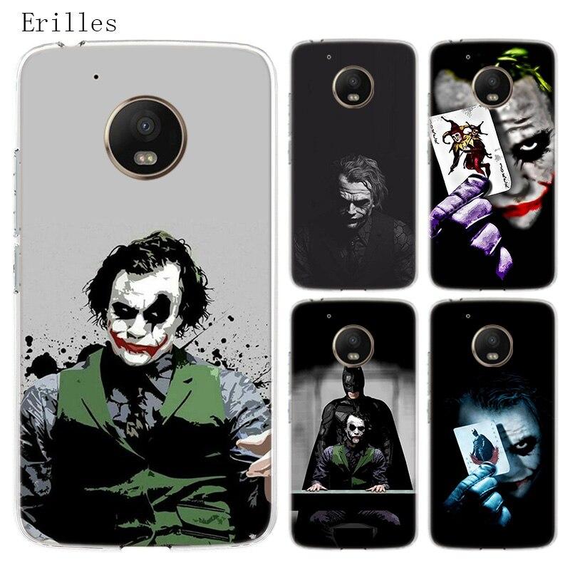 Batman Joker Dark Knight Silicone Soft Case For Motorola Moto G8 G7 Power G6 G5 G5S E4 E5 Plus G4 Play Cover Coque