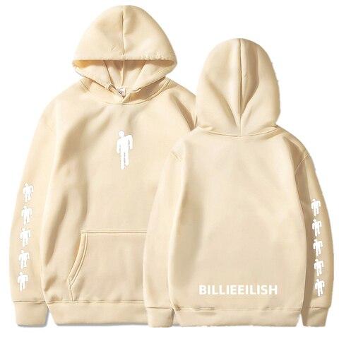 Billie Eilish Fashion Printed Hoodies Women/Men Long Sleeve Hooded Sweatshirts 2019 Hot Sale Casual Trendy Streetwear Hoodies Karachi