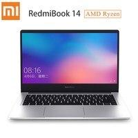 Xiaomi RedmiBook 14 ноутбук AMD Ryzen 5 3500U/Ryzen 7 3700U Windows 10 Home 8 ГБ/16 ГБ RAM 256 ГБ/512 ГБ ROM ультра тонкий ноутбук