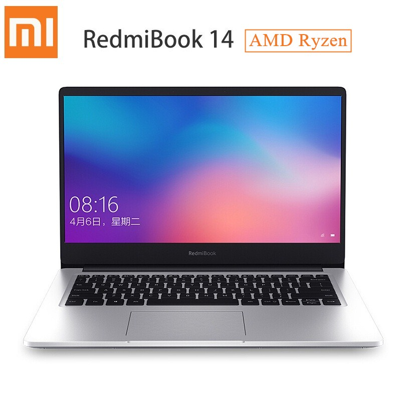 Xiaomi Redmibook 14 Laptop AMD Ryzen 5 3500U/RYZEN 7 3700U Windows 10 Home 8 GB/16 GB RAM 256 GB/512 GB ROM Ultra Tipis Notebook