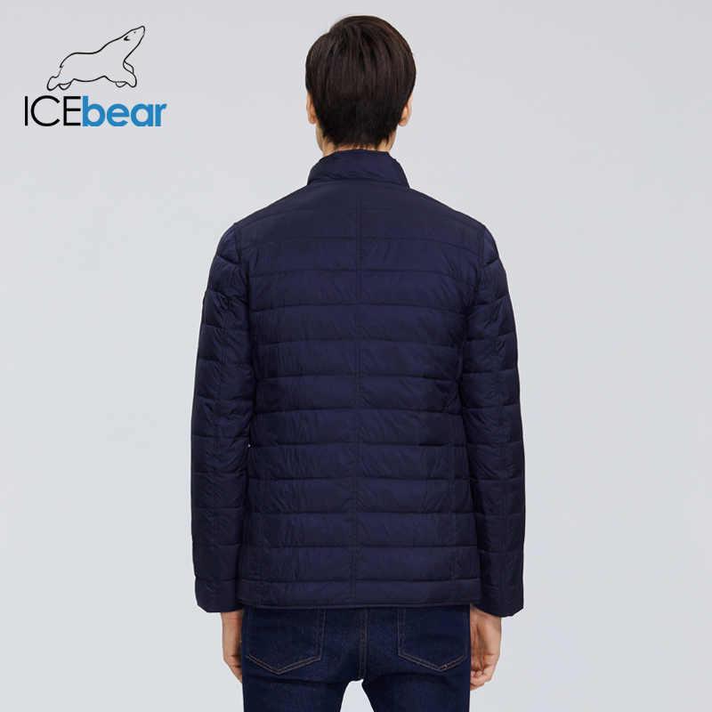 ICEbear 2020 Neue Männer der Jacke Frühling Winddichte Dünne Baumwolle männer Jacke Fashion Casual Cropped Jacke Marke Männer Jacke MWC20245D