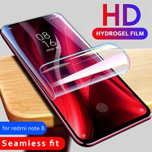 Screen Protector Hydrogel Film For Xiaomi Redmi note 8 7 6 pro Protective Film For xiaomi mi 9 lite se 9T pocophone F1 Not Glass все цены