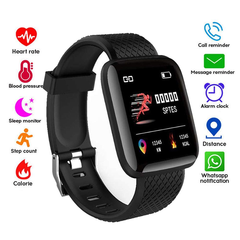 R116plus Smart Bracelet Waterproof Band 4 Heart Rate Blood Pressure Fitness Tracker Men And Women Wristbands Suitable