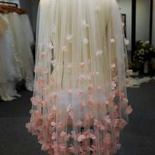Bridal-Veils Comb Fingertip-Length Ivory/white High-Quality for