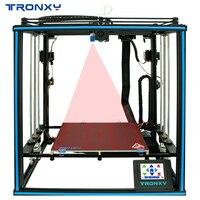 Tronxy diy impressora 3d X5SA 2E cor misturada dupla porta de alimentação 2 em 1 para fora máquina 3d 330*330mm auto nível impressão 3d ducker|Impressoras 3D| |  -