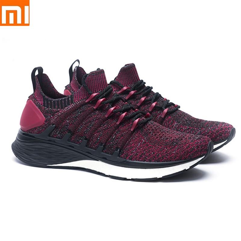 Original Xiaomi Mijia Sneaker 3 Running Shoes Popcorn Cloud Bomb 6 In 1 Uni-moulding 3D Smart Fishbone Lock System Knit Upper