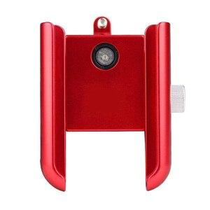 Image 4 - MTB Bicycle Motorcycle Phone Holder For iPhone X XS 11Pro support telephone moto aluminium Holder For GPS Bike Handlebar Holder