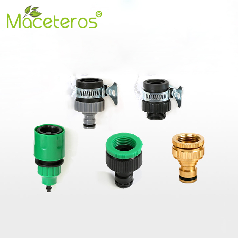 MACETEROS Faucet Tube Adapter 4/7 Or 8/12 Tube Micro-spray Multi-function Joint Garden Drip Irrigation Series