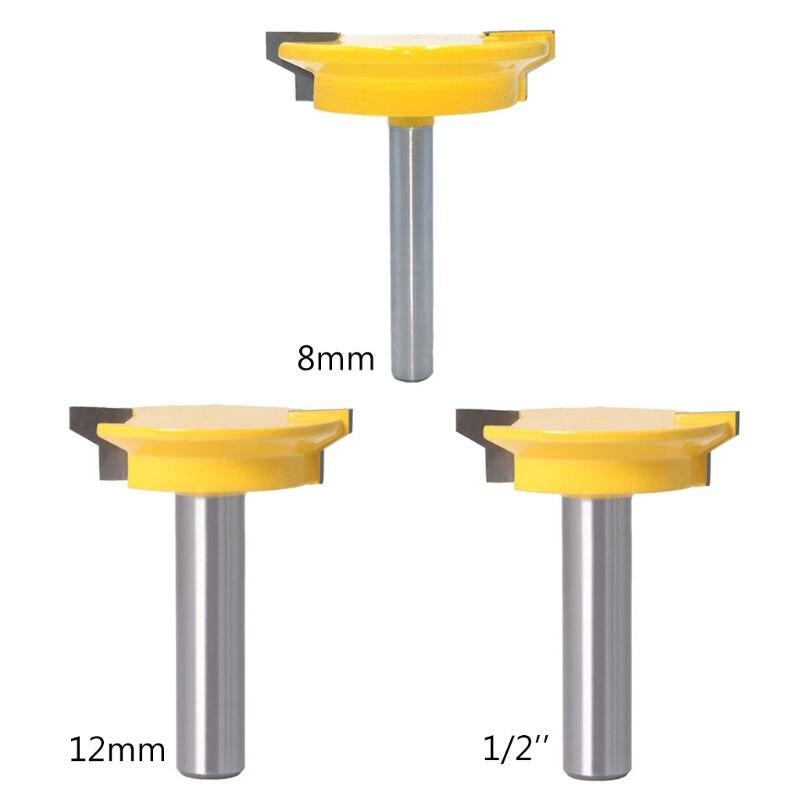 Купить 8 мм 12 1/2 дюйма прямой ящик формовочный фрезер долото замок
