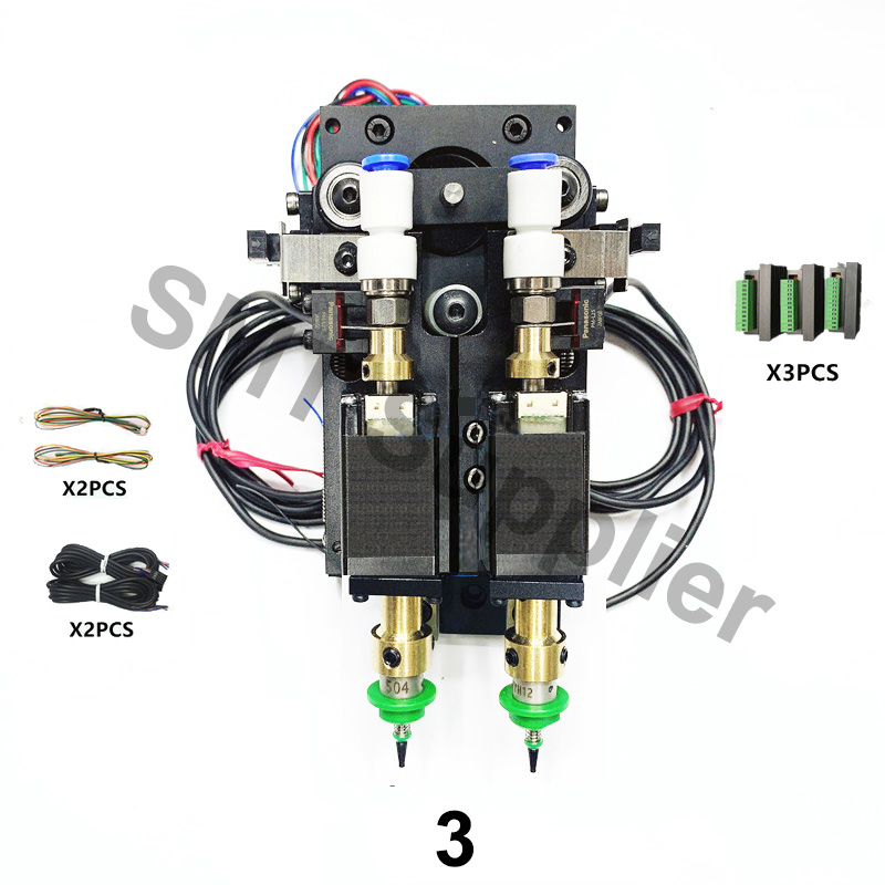 Image 3 - Update BT2030 SMT DIY Steppor Motor Rotary Joint mountor connector Nema8 hollow shaft stepper for pick place Double headPneumatic Parts   -