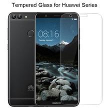 9H HD Protective Glass for Huawei Y5 ii Y6 Pro 2017 Y3 2018 Y7 Prime Screen Protector for Huawei P Smart Plus on Y6 ii Y3 ii