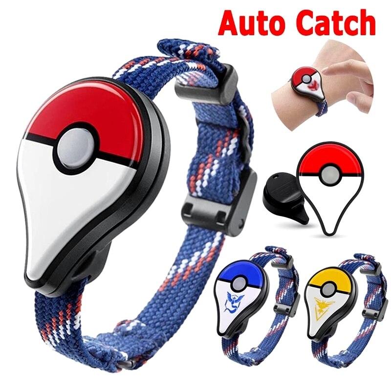Смарт-браслет с автозахватом для Pokemon Go Plus, игрушечное вспомогательное оборудование, фэнтезийные фигурки для детей, рождественский подарок,...