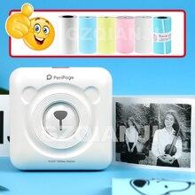 Pocket-Photo-Printer Peripage Mini Android New 304 Dpi Bluetooth for Ios Children Women