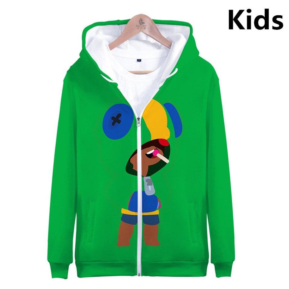 Tir jeu 3D sweats à capuche imprimés garçons filles à manches longues enfants sweat à capuche mode Harajuku veste manteau marque vêtements