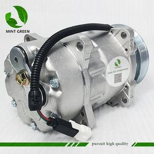 Image 4 - SANDEN 7V16  AC Compressor for PEUGEOT 306 406 for CITROEN XANTIA  6453FE 6453GA 6453L5 9613260680 9640486480 1106 1227 SD7V16