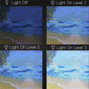 Image 3 - A4 Led ライトパッドダイヤモンド塗装、 Usb 電源 5D ダイヤモンド刺繍アクセサリーライトボードツールキット