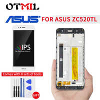 "5.2"" Original For ASUS Zenfone 3 Max ZC520TL LCD Display Touch Screen with Frame Digitizer Assemble For ASUS X008D LCD Display"