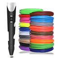 Modelo Original bolígrafo 3D DIY bolígrafos de dibujo de impresión 3 D con filamento ABS de 100/200 metros regalo creativo de juguete para niños diseño al por mayor