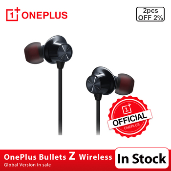 New OnePlus Bullets Wireless Z Earphones Magnetic Control Quick Switch Pair Warp Fast Charge For Oneplus 8 Pro Similar Bullets2