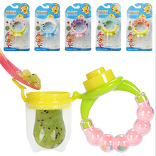 1Pcs Fresh Food Nibbler Baby Pacifiers Feeder Kids Fruit Feeder Nipples Feeding Safe Baby Supplies Nipple Teat Pacifier Bottles baby nimbler pacifier clip for fruit infant food nibbler holder nipples silicone soother nipple feeding teat pacifier bottles