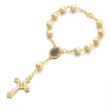 NEW arrive 10PCS/lot 8 mm Mixed glass pearl  Bead Chain Bracelets