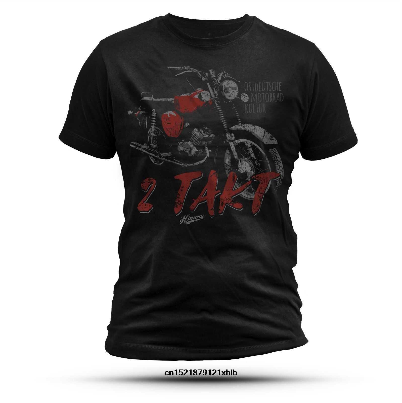 Camiseta masculina 2 takt s51 ostdeutsche motorrad kultur camiseta gráfica topos simson 2 tempos ddr moped simme akf suhl motor