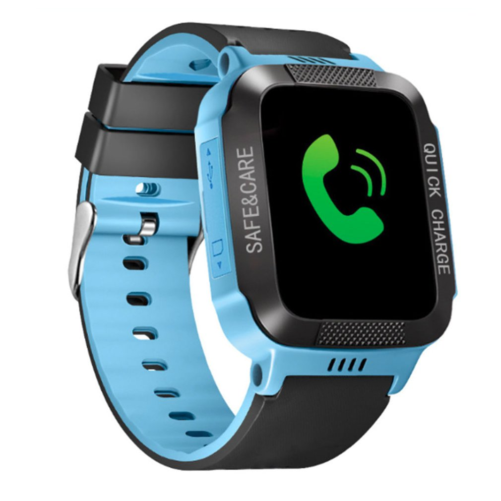 Kids Smart Watch Phone For Girls Boys With Gps Locator Pedometer Fitness Tracker Touch Camera Anti Lost Alarm Clock Y21S