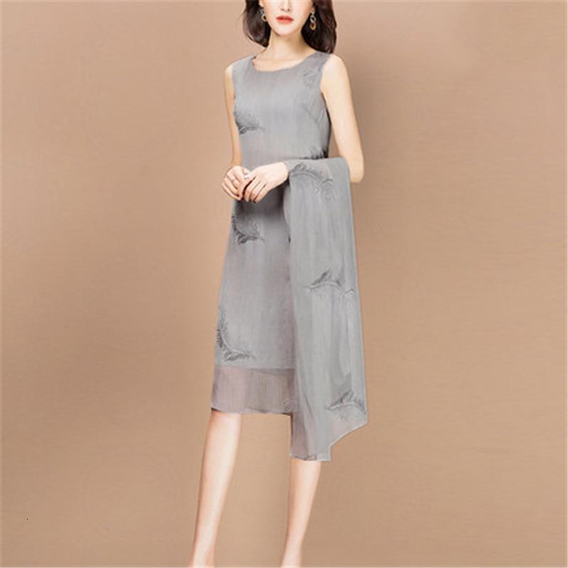 Dress Suits Women Three Quarter Sleeve Long Jacket Knee Length Mother Of Bride Dress Plus Size Formal Wedding Guest 2 Piece Set