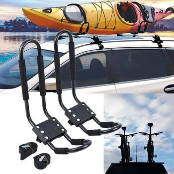 Samger voiture Kayak toit montage voiture haut montage canoë ski galerie de toit 2 xCar barres de toit J
