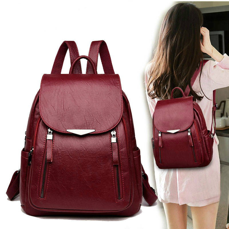 Women  Backpacks Designer Leather Women Bag Fashion School Bags for Teenagers Girls Backpacks Travel Bags Feminina Handbags