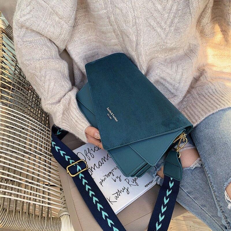 Brand Originality Design Handheld Frosted  Bag Women 2019 New Version Of Joker Shoulder Slung Fashion Broadband Small Square Bag