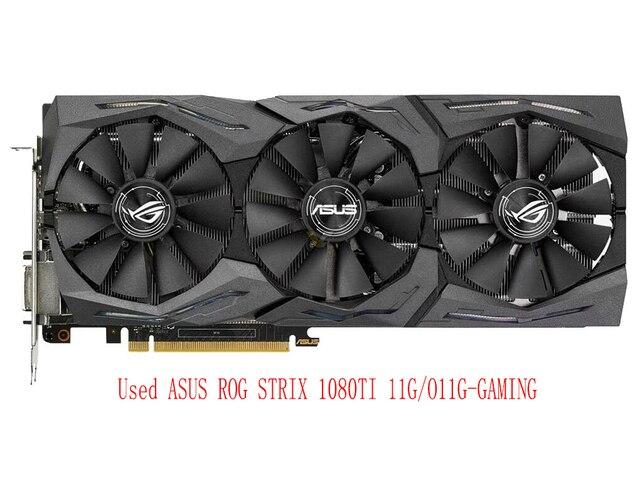 GTX 1080 TI 11G Red Dragon desktop computer desktop graphics card used graphics card