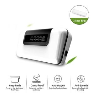 Image 2 - 自動真空シーラーパッカー真空空気シール包装機保存ドライ、ウェット、ソフト食品送料無料で10個のバッグ