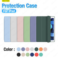 Funda protectora suave para iPad Pro 12,9, 11, 2021, 2020, Ipad Air 4, 2, 3, 8th, Ipad Mini 5, 4, 10,2, 10,5, 9,7