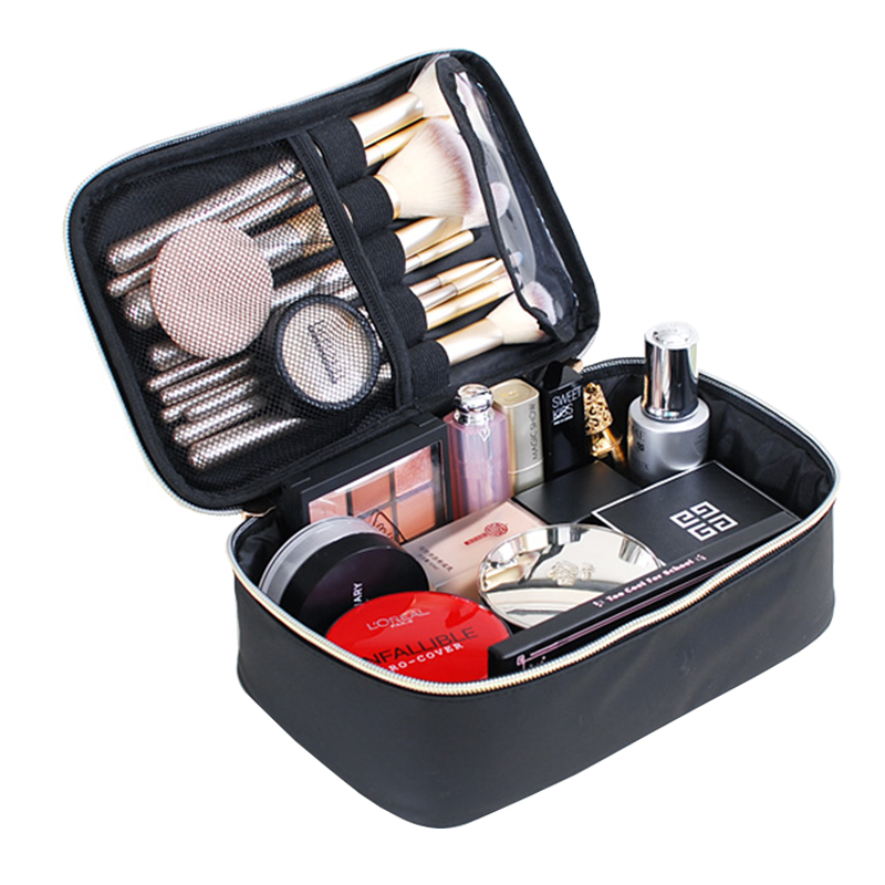 2019 New Cosmetic Case Travel Organizer Waterproof Cosmetic Bag Women Portable Large Capacity Makeup Storage Pouch Professional