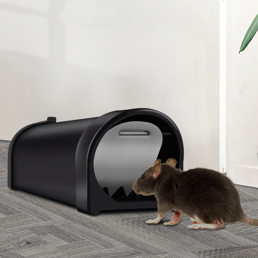 High-efficiency Automatic Rat Trap Reusable Mousetrap Mouse Trap Catch Bait Capture Mice Rodent Hamster Cage Pest Control