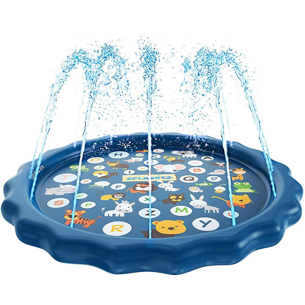 Summer Outdoor Spray Water Cushion PVC Inflatable Spray Water Toys For Children Play Water Mat Games Beach Lawn Sprinkler Pads