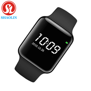 Image 1 - Smart Watch Series 4 for Apple Smart Wristband Fitness Tracker Passometer Heart Rate Sensor Sport Smart Watches (Red Button)